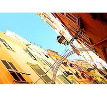 Streets of Monaco Photographic Print