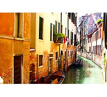 Canal, Venice Photographic Print