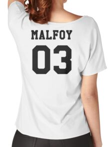 Malfoy 03 Draco malfoy - Black Women's Relaxed Fit T-Shirt