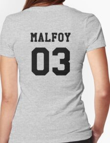 Malfoy 03 Draco malfoy - Black Womens Fitted T-Shirt