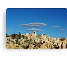 Particular clouds on Bryce Canyon, Utah Canvas Print