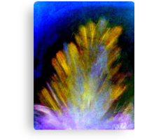 """""""Peacock Feather"""" by Chip Fatula Canvas Print"""
