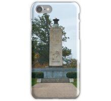 Gettysburg National Park - Eternal Peace Light Memorial iPhone Case/Skin
