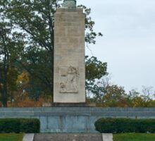 Gettysburg National Park - Eternal Peace Light Memorial Sticker