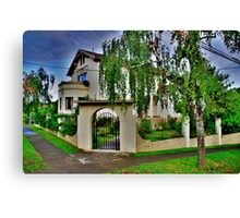 typical home Canvas Print