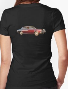 Maroon Holden Premier at Sunset Womens Fitted T-Shirt