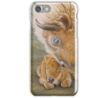 Miracle Moon & Silver Spirit - White Buffalo iPhone Case/Skin