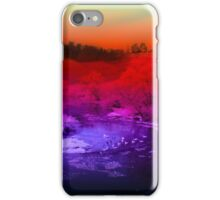 The magic of a winter wonderland iPhone Case/Skin