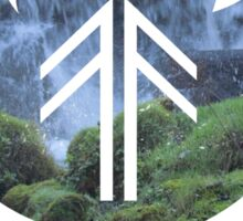 Forest Fire - Waterfall Sticker