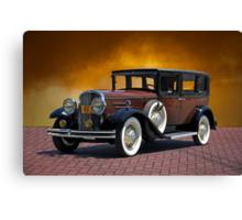1930 Franklin Formal Sedan Canvas Print