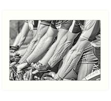 Bike Warriors Art Print