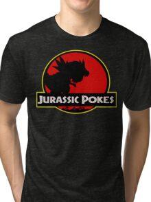 Jurassic Poké Tri-blend T-Shirt