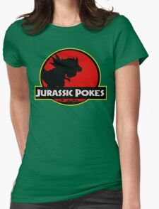 Jurassic Poké Womens Fitted T-Shirt