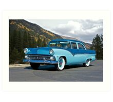 1955 Ford Family Sedan Art Print