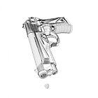 Wireframe Beretta Handgun by RockNRyder