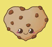 Heart Cookie One Piece - Short Sleeve