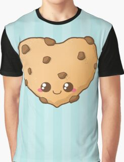Heart Cookie Graphic T-Shirt