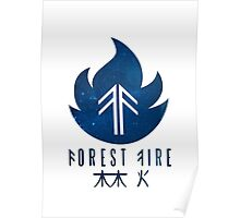 Forest Fire - Stars Poster
