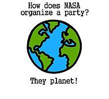 NASA Party Photographic Print