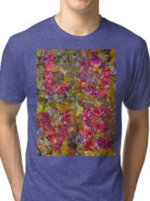Leaf Foliage Love Letters Tri-blend T-Shirt