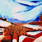 Snow on Snow by Rusty  Gladdish
