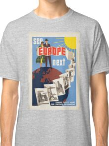 Vintage poster - Europe Classic T-Shirt