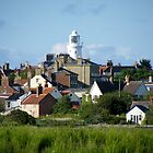 A View of Southwold Lighthouse, Suffolk UK by janett8