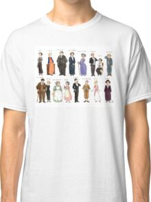 Downton Abbey portraits Classic T-Shirt