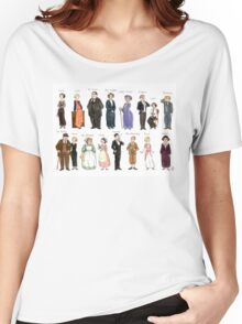 Downton Abbey portraits Women's Relaxed Fit T-Shirt