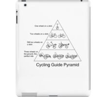 Cycling Guide Pyramid iPad Case/Skin