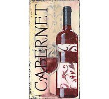Transitional Wine Cabernet Photographic Print