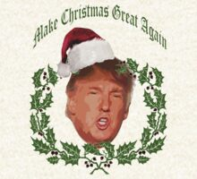 Make Christmas great again Donald Trump by lfang77
