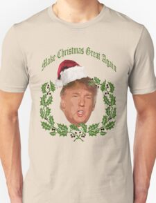 Make Christmas great again Donald Trump T-Shirt