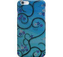 Daisies Blue Purple iPhone Case/Skin