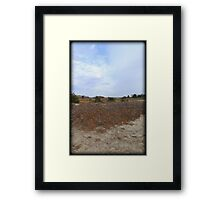 Color Dune Framed Print