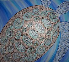 Sea Turtle  by Heather Conley