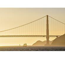 Chasing Sails Photographic Print