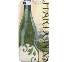 Transitional Wine Chardonnay iPhone Case/Skin
