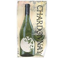 Transitional Wine Chardonnay Poster