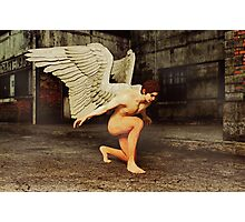 Angel in The City Photographic Print