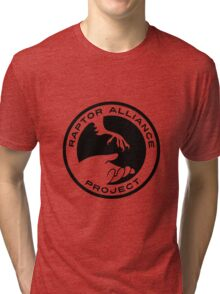 Raptor Alliance Project: Black Tri-blend T-Shirt
