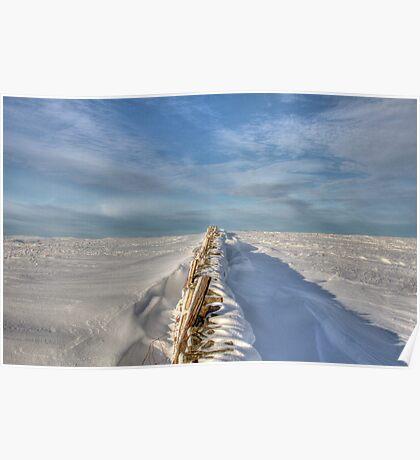 Snowscape Poster