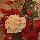 Roses And Bubbles by Kathy Baccari