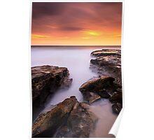 """Red Shift"" ∞ Pincushion Island, QLD - Australia Poster"