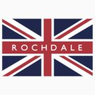 Rochdale UK Flag			 by FlagCity