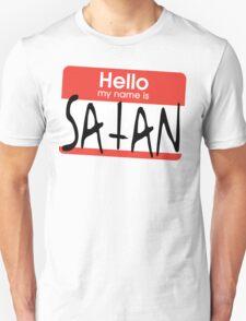 Hello, my name is Satan T-Shirt