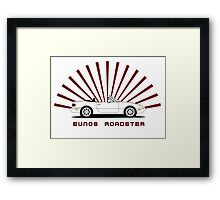 Eunos Roadster Framed Print