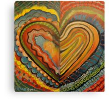 Bad Boy Heart Canvas Print