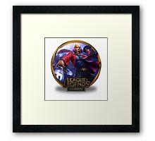 Draven Primetime - League of Legends Framed Print