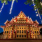 royal pavilion @ huahin train Station by arthit somsakul